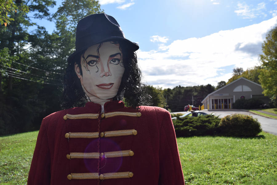 <p>The King of Pop makes an appearance.</p>