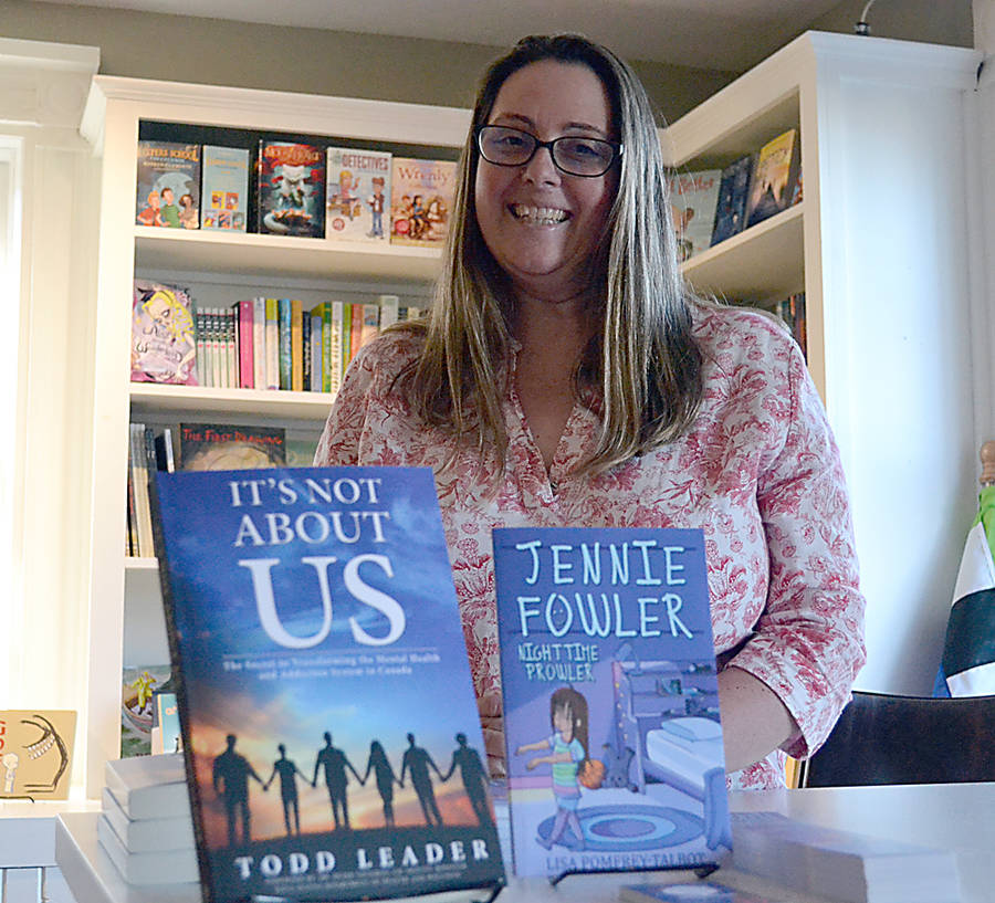 <p>GAYLE WILSON PHOTO</p><p>Lisa Pomfrey-Talbot self-published a successful children's book and was inspired to launch her own collaborative publishing program and book store.</p>
