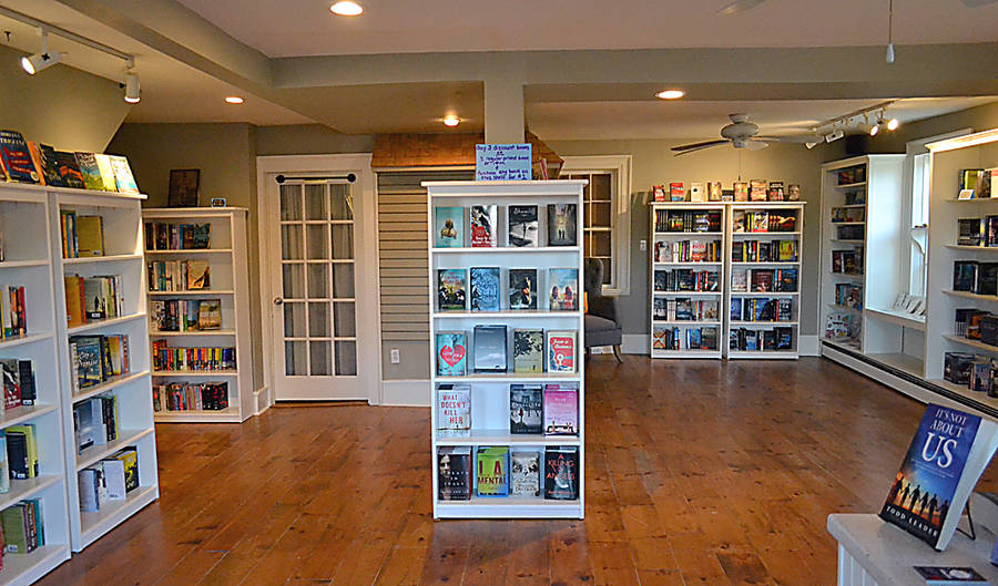 <p>GAYLE WILSON PHOTOS</p><p>A Novel Idea bookstore in Mahone Bay opened temporarily during the Scarecrow Festival and is expected to open full-time within the next few weeks.</p>