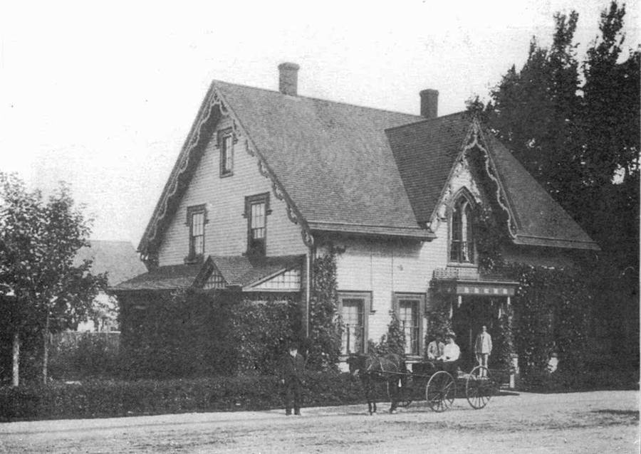 <p>PHOTO COURTESY TIM MCDONALD</p><p>This photo of the home is thought to have been taken around 1900.</p>