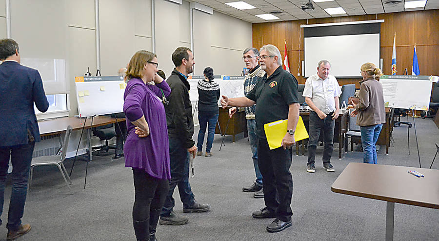 <p>GAYLE WILSON PHOTO</p><p>MODL held two open houses in its council chambers on November 1, as part of its plan to seek public input on a future subdivision bylaw.</p>
