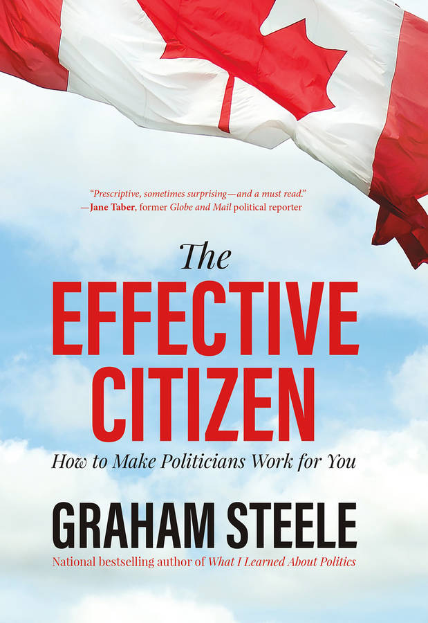 <p>CONTRIBUTED PHOTO</p><p>The Effective Citizen is Graham Steele's second book since leaving politics.</p>
