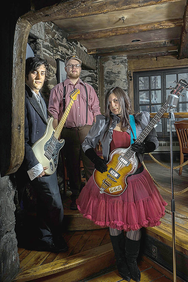 <p>CONTRIBUTED PHOTO</p><p>The Blue Lane band, left to right: Morgan Cruickshank (vocals/guitar), Connor Booth (vocals/drums) and Rachael Henderson (lead vocal/bass).</p>