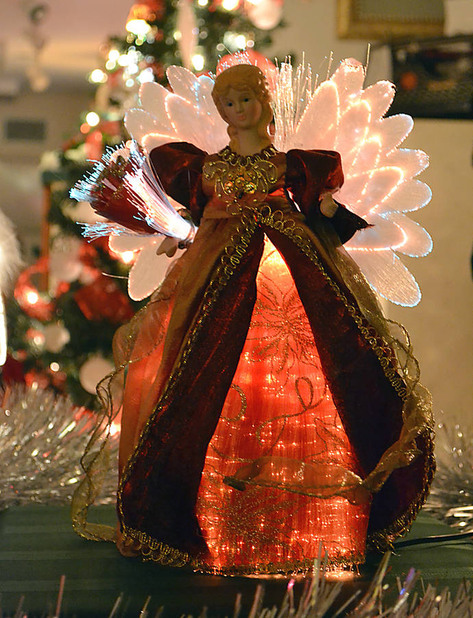 <p>GAYLE WILSON PHOTO</p><p>Half a dozen volunteers spent approximately two weeks putting together the Christmas display.</p>