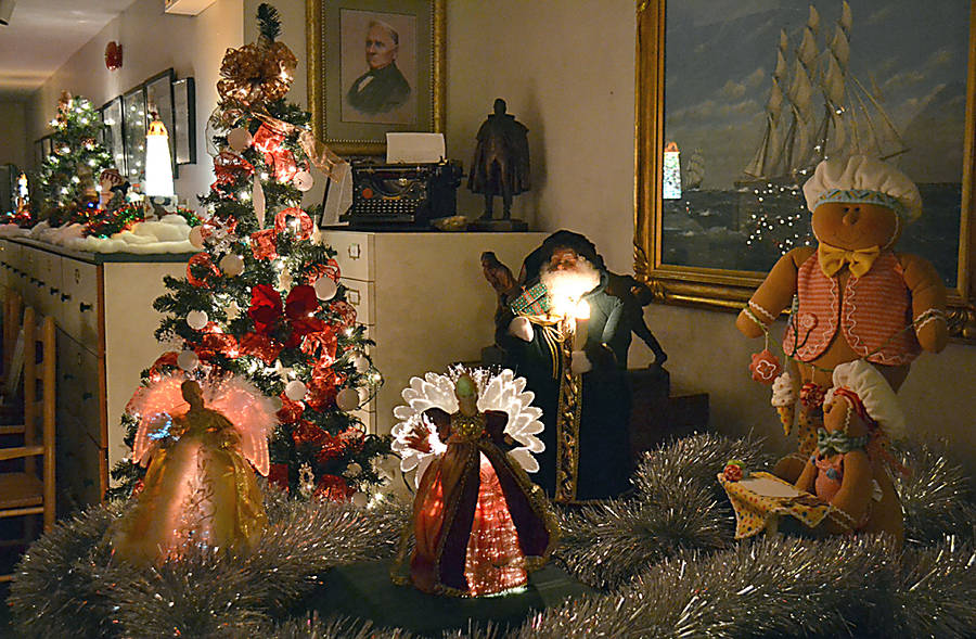<p>GAYLE WILSON PHOTO</p><p>The Festival of Trees and Dickensville at the Queens County Museum is open daily now through to December 23.</p>