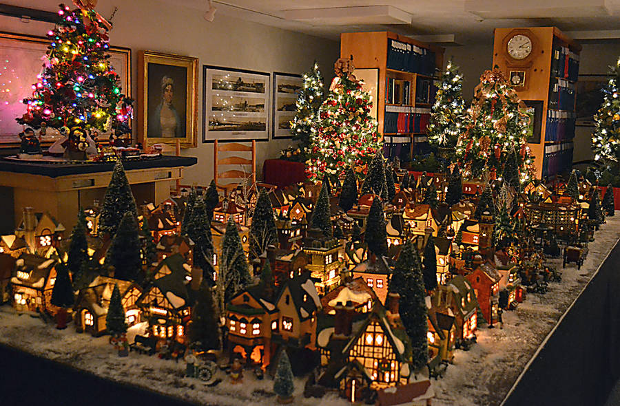 <p>GAYLE WILSON PHOTO</p><p>There are 89 buildings in the Dickens Christmas village at the Queens Museum, plus a collection of people, trees and other props.</p>