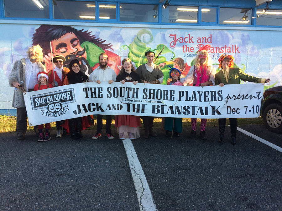 <p>CONTRIBUTED PHOTOS</p><p>Some cast members of <em>Jack an the Beanstalk</em> just before walking in the recent Lunenburg Santa Claus parade.</p>