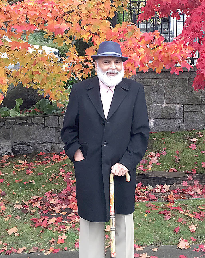 <p>CONTRIBUTED PHOTO</p><p>Stephen Sander, 83, of Vancouver once taught physical education in Bridgewater, when he was then named Sukhwant Singh.</p>