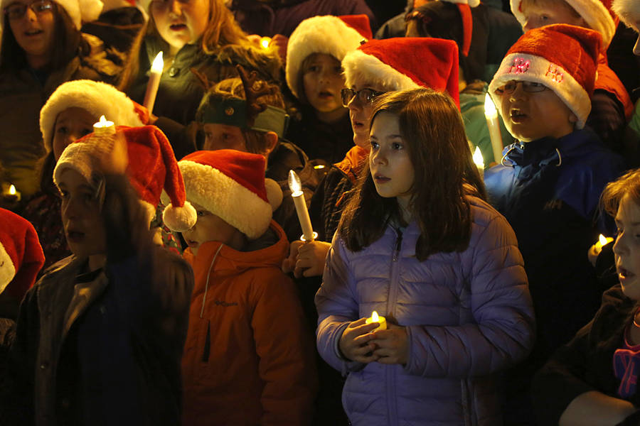 <p>BRITTANY WENTZELL PHOTO</p><p>The Dr. John C. Wickwire Academy's choir kicked off the tree lighting celebrations during Christmas on the Mersey on December 1.</p>