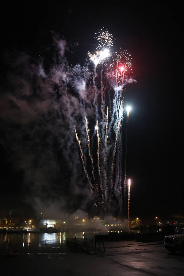 <p>BRITTANY WENTZELL PHOTO</p><p>The evening ends with a fireworks display over the Mersey.</p>