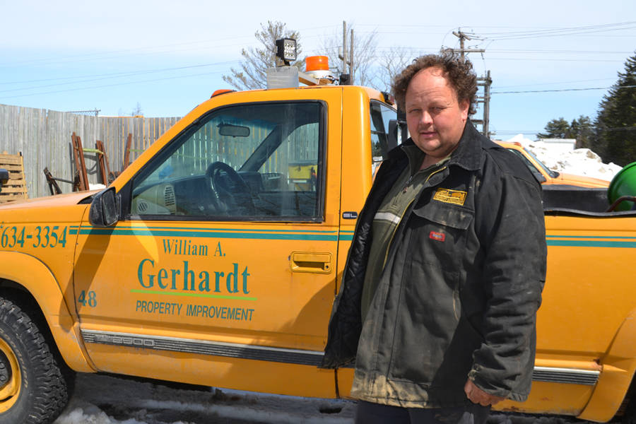 <p>FILE PHOTO</p><p>William Garhardt of Garhardt's Property Improvement, the company that MODL has chosen to install the first five systems in its straight pipe replacement program.</p>