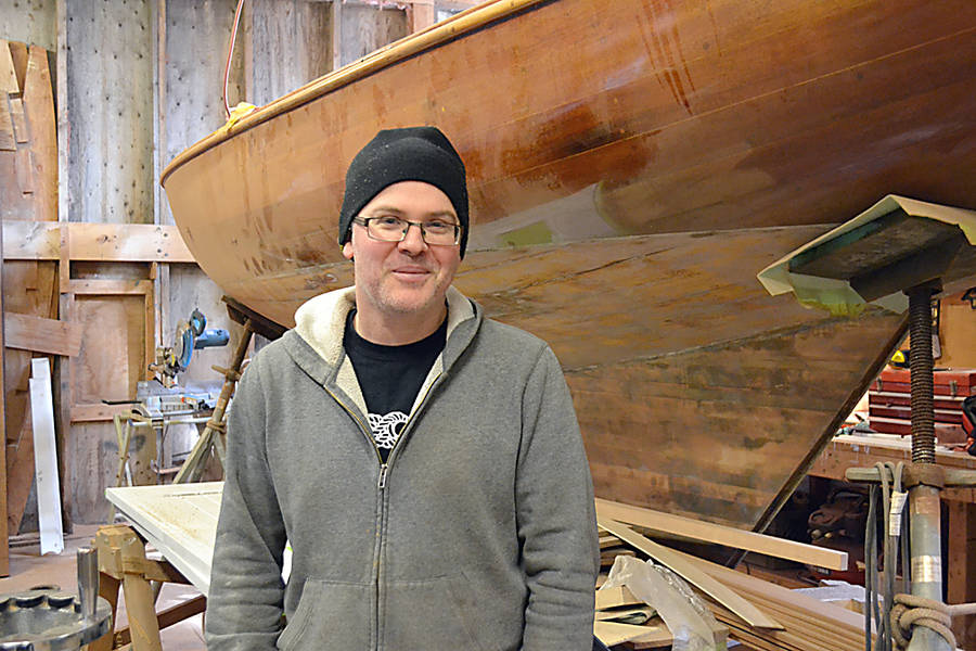 <p>Bruce Thompson, the owner of Tern Boatworks, is looking to expand the operation beyond Gold River.</p>