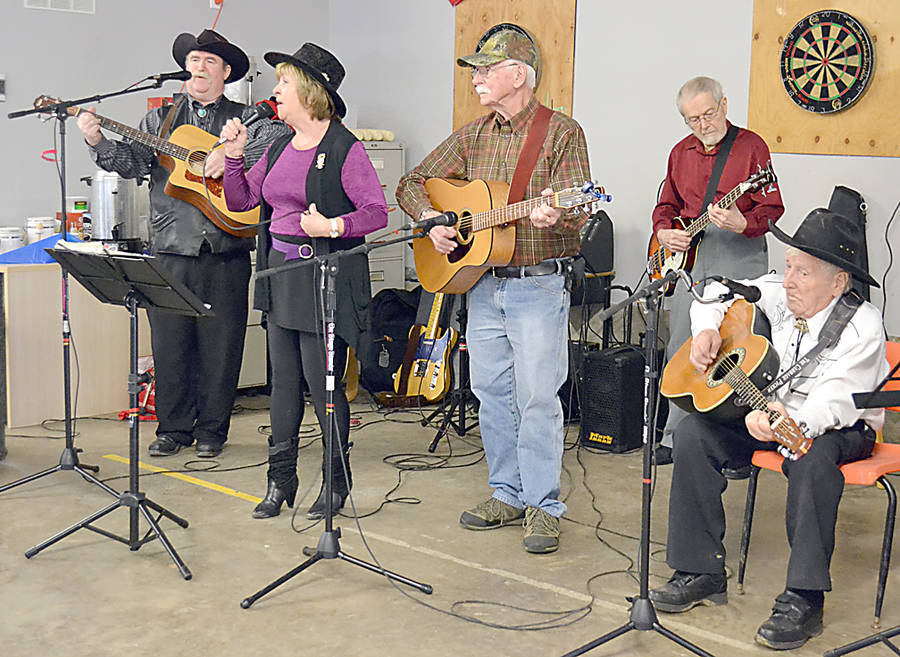 <p>GAYLE WILSON PHOTO</p><p>The local band, <em>Kentucky Blue, </em>performed at the fundraising event, along with the group <em>Chicks Having Fun.</em></p>