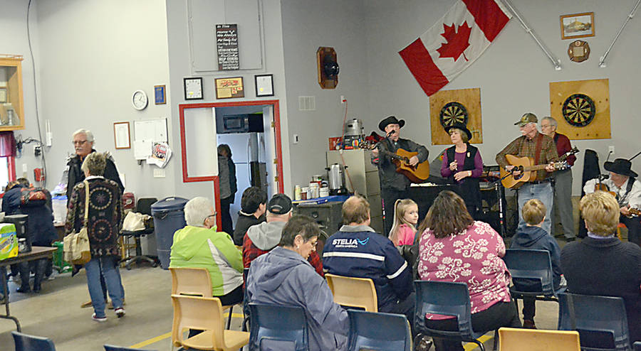 <p>GAYLE WILSON PHOTO</p><p>The fundraising event featured musical entertainment, a barbecue and a baked goods and preserves sale.</p>