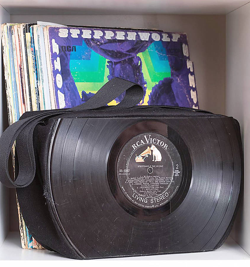 <p>FACEBOOK PHOTO</p><p>Handbags from vintage records are just one of the treasures shoppers can expect to find at the Etsy Made In Canada Spring Market slated for Mahone Bay May 19 and 20.</p>