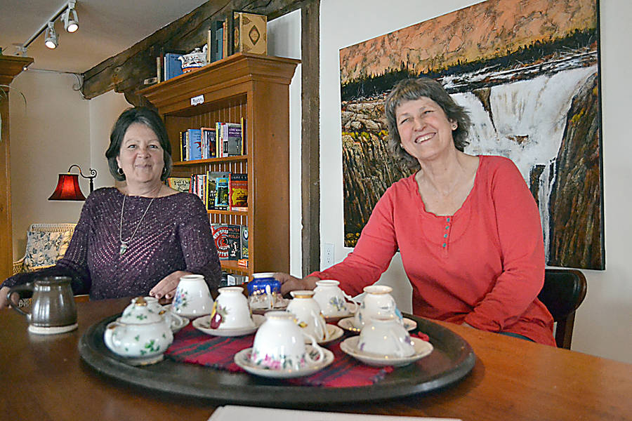 <p>GAYLE WILSON PHOTOS</p><p>LaHave River Books co-owners Andra White (left) and Gael Watson. Watson also owns the LaHave Bakery, which operates in the same building on Highway 331.</p>