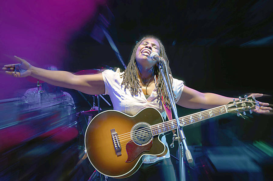 <p>CONTRIBUTED PHOTO</p><p>Triple-Grammy nominated blues singer Ruthie Foster will be one of the moderators at <em>The Roots of the Blues</em> day-long conference, as well as a a performer at the Lunenburg Folk Harbour Festival.<em></em></p>