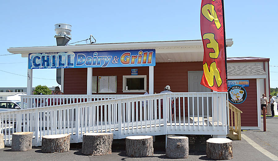 "<p>GAYLE WILSON PHOTO</p><p>The Chill and Grill restaurant offers ""classic diner food"" including ice cream.</p>"