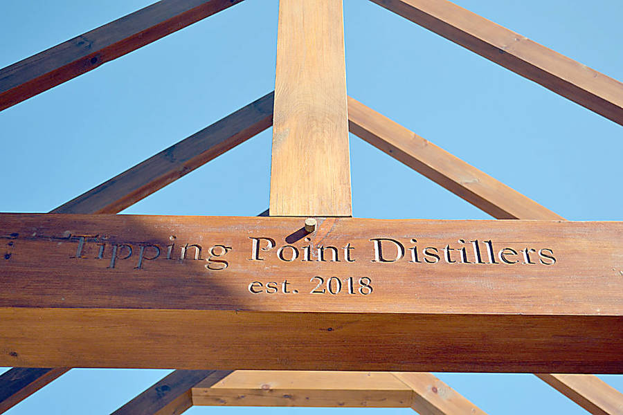 <p>GAYLE WILSON PHOTO</p><p>Still under construction, the Tipping Point distillery in Chester Basin is expected to be open by December, if not sooner.</p>