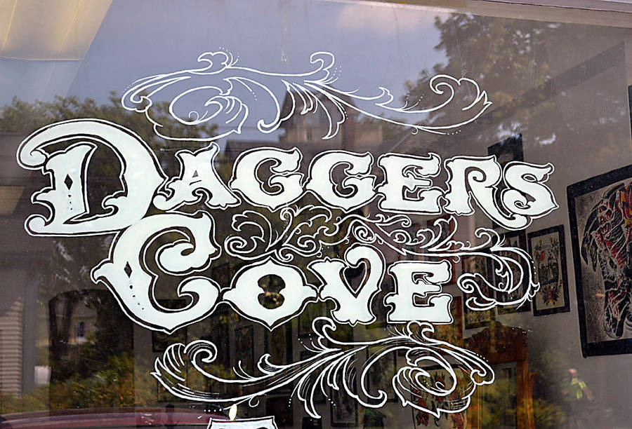 <p>GAYLE WILSON PHOTO</p><p>Daggers Cove, now on Lunenburg's Falkland Street, first opened in Halifax on Hollis Street.</p>